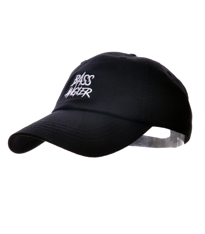 Bass Angler Ball-cap - Black