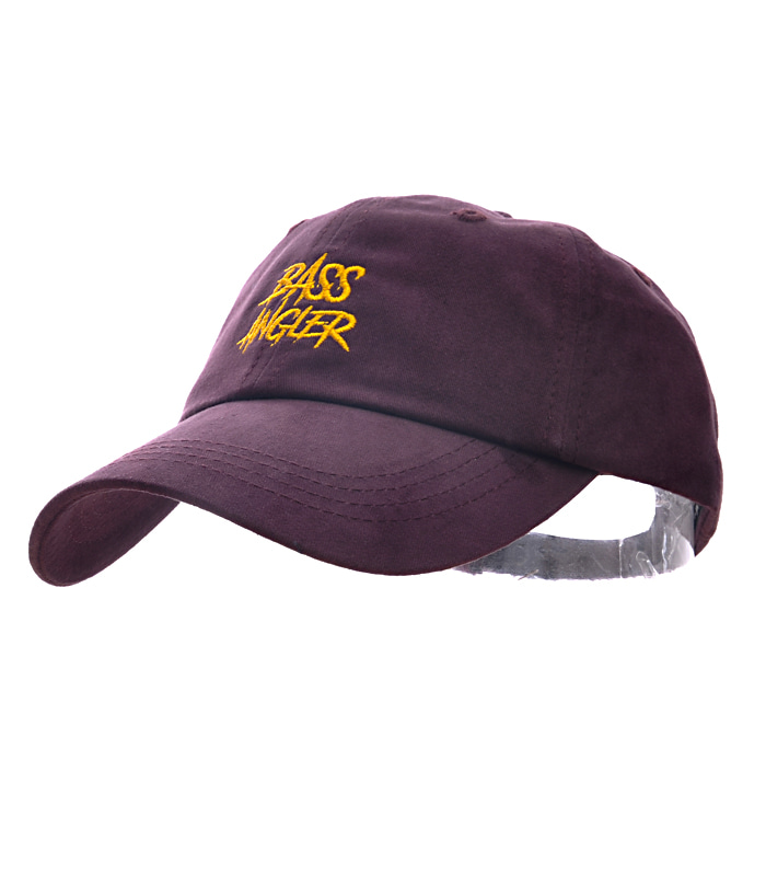 Bass Angler Ball-cap - Burgundy
