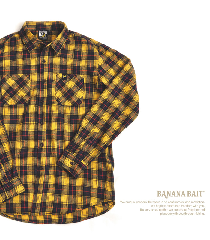 Banana Check Shirts - Yellow