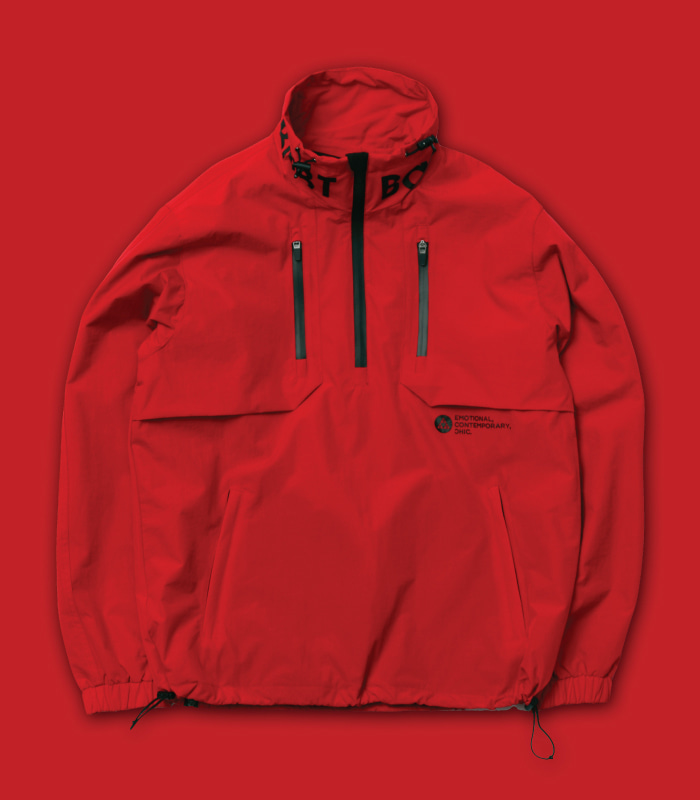 [방수] 바나나베이트  IGNITE Windbreaker JKT / Red