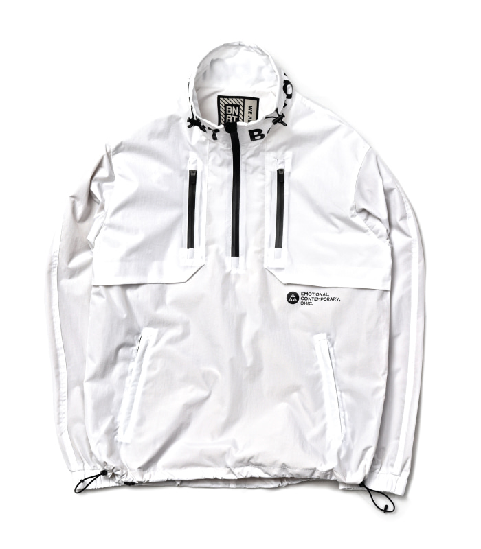 [방수] 바나나베이트 IGNITE Windbreaker JKT / White