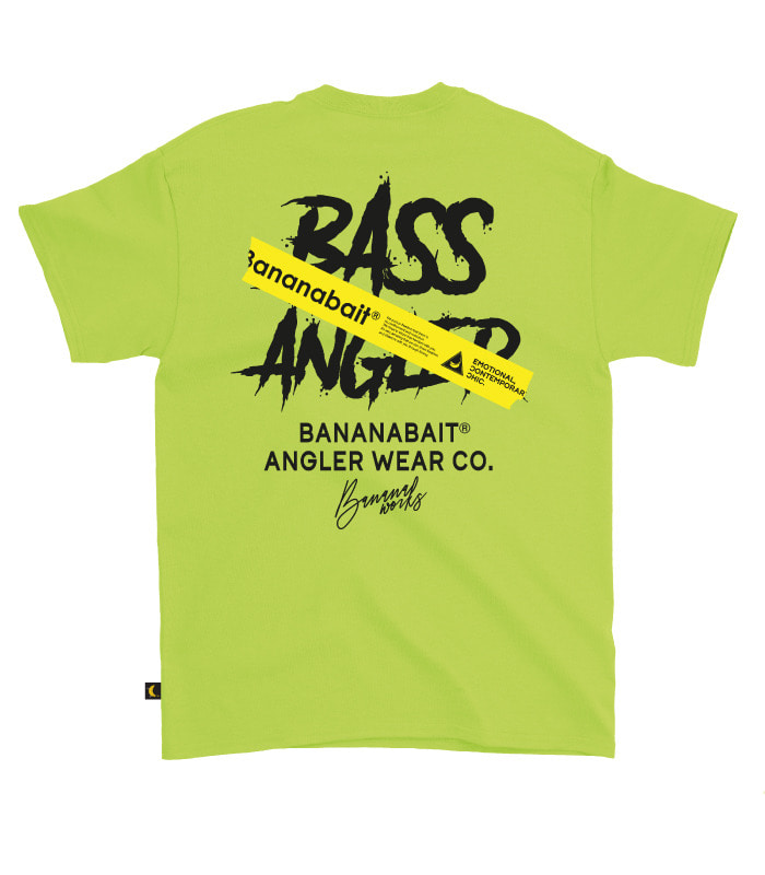 [오버핏] BASS ANGLER T-Shirts / Lime Punch